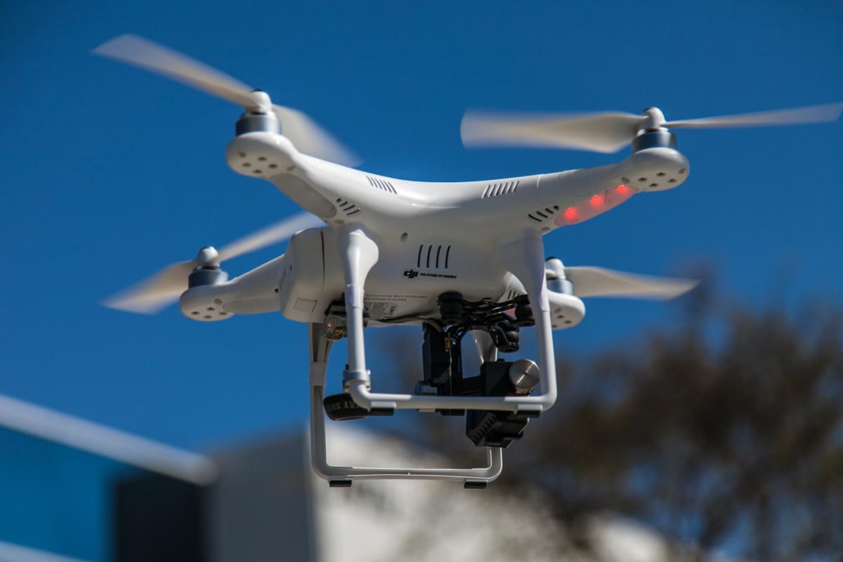 ohio man charged for camera drone use aerial