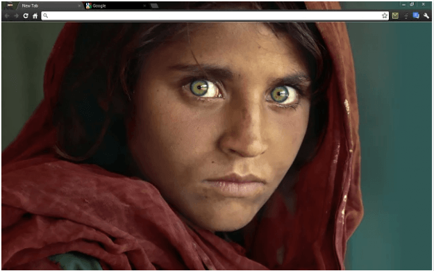 Afghan Girl Theme