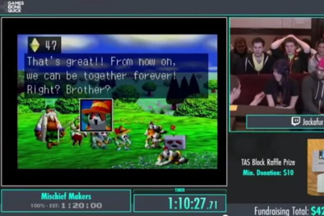 best moments from awesome games done quick  charity stream agdq proposal