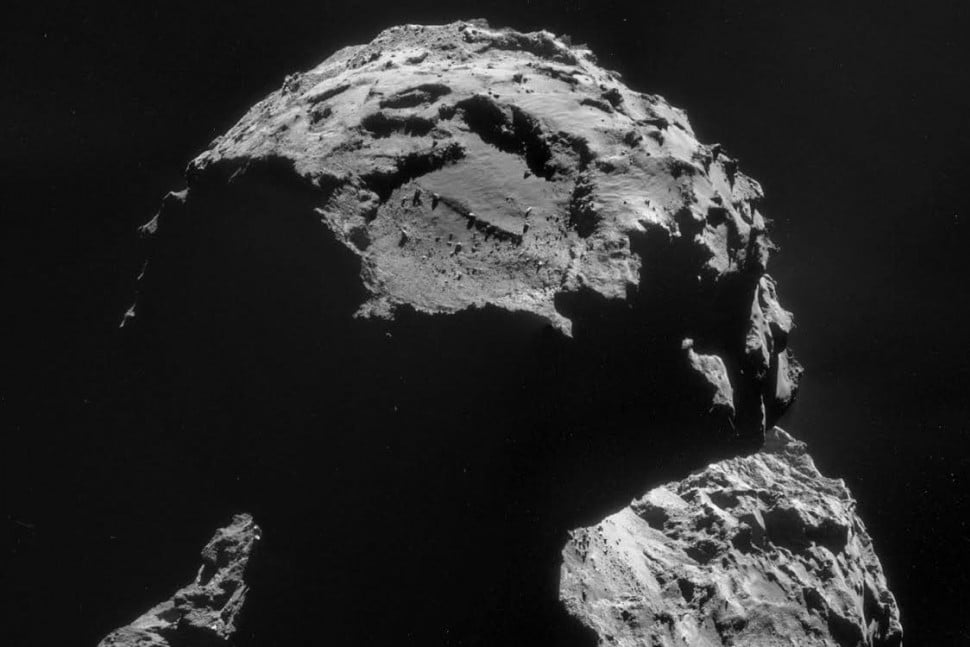 scientists say philae comet may contain alien life agilkia landing site  x c