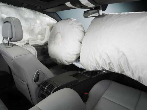 Car Airbags Deployed