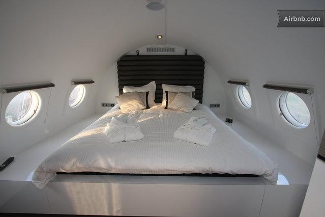 bizarre airbnb rentals that are almost too weird to believe airplane suite netherlands