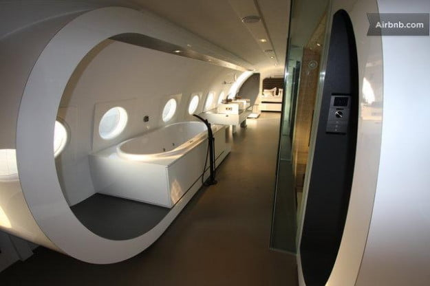 airbnb airplane suite netherlands