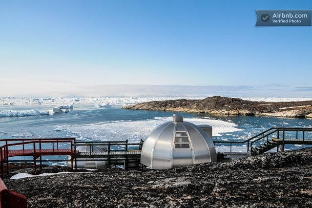 bizarre airbnb rentals that are almost too weird to believe igloo greenland
