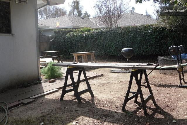 bizarre airbnb rentals that are almost too weird to believe steves back yard napa ca