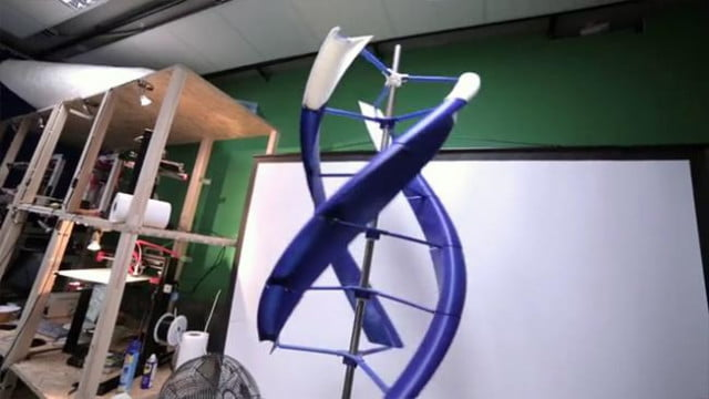airenergy  d printed wind turbine powerful portable