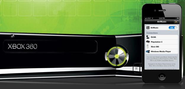Connect iPhone to Xbox 360
