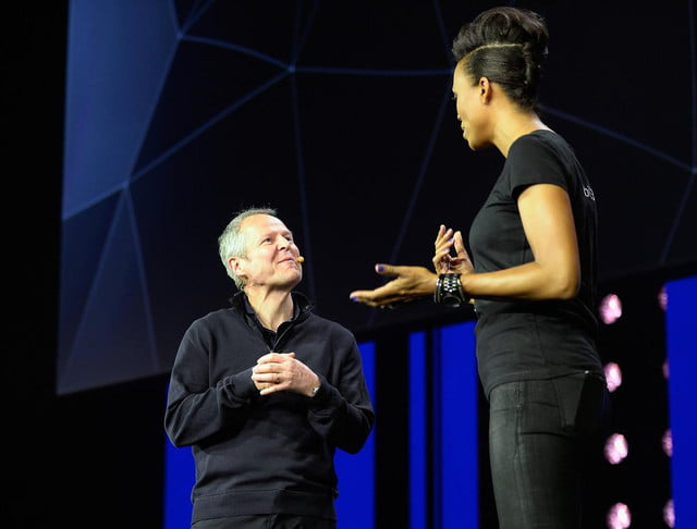 the next gen consoles may lead to interactive tv if ubisoft gets its way aisha tyler yves guillemot leading video game h gv g