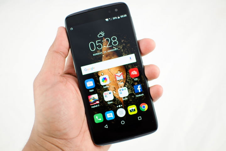 alcatel idol  mwc plus s