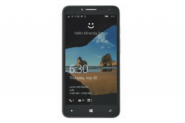 the alcatel onetouch fierce xl is t mobiles first windows  mobile smartphone