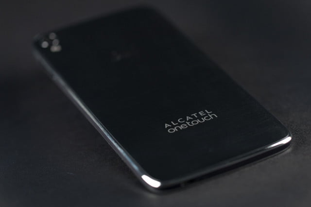 meet alcatel onetouch x  phone will likely never grace hands idol back angle