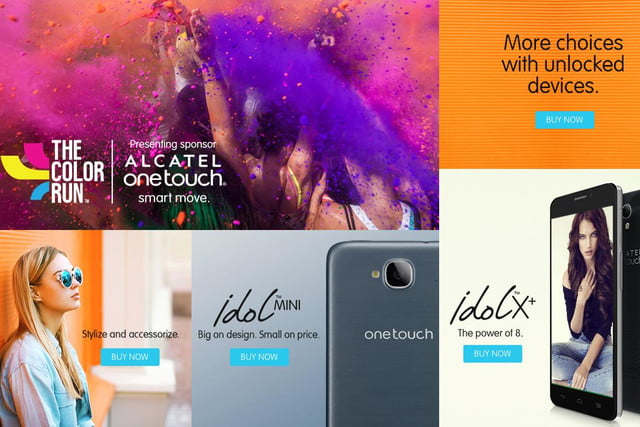 alcatel onetouch expands options u s consumers new online store