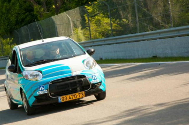citroen c  electric car can go miles one charge alcoa final