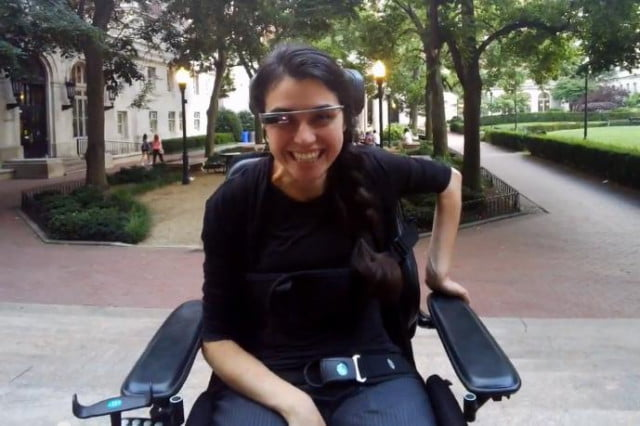 google glass helps paralyzed woman experience life alex blaszczuk