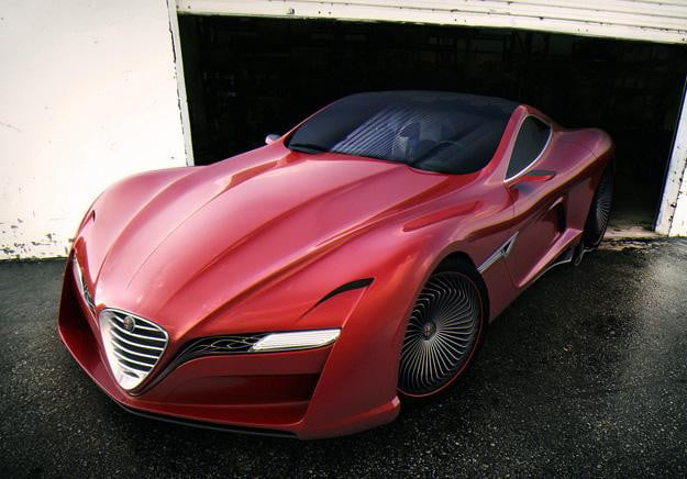 Alfa Romeo 12C GTS Concept: A sleek little concept that dares to dream