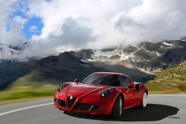 alfa romeo  c to start at but it wont arrive until mid photos and details