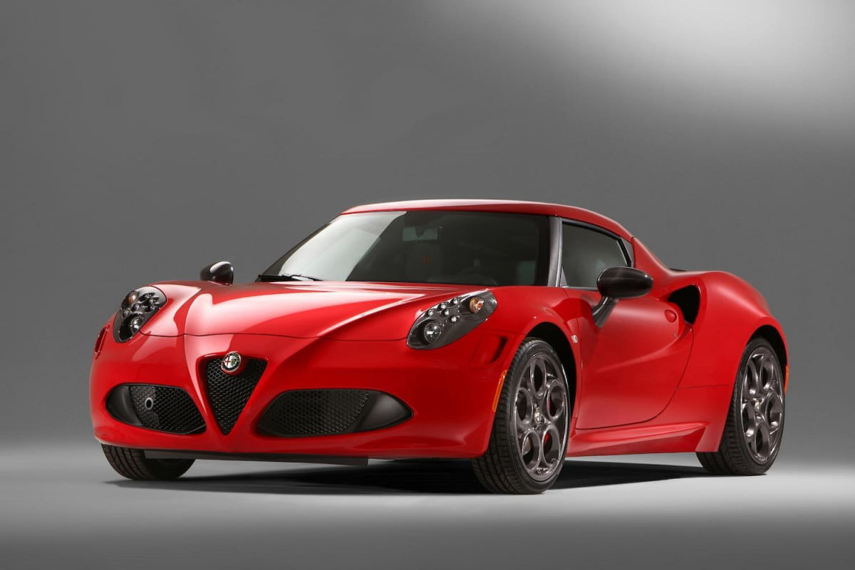 alfa romeo  c to weigh pounds more in u s and not because of the driver full