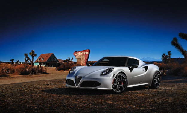 Alfa Romeo 4C official