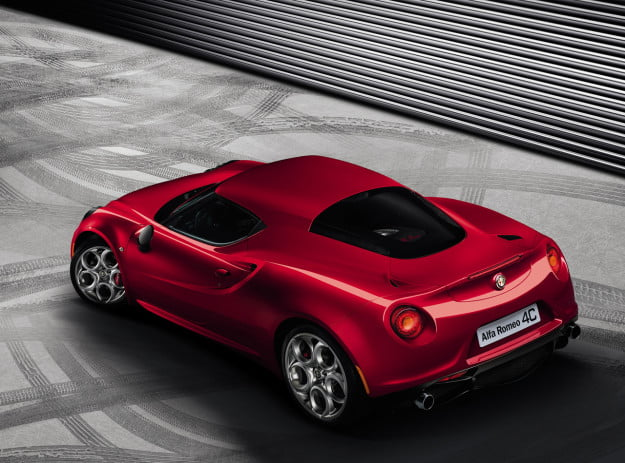 Alfa Romeo releases official 4C images ahead of Geneva unveiling, no surprises here, it's still beautiful