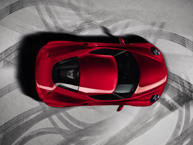 Alfa Romeo releases official 4C images ahead of Geneva unveiling, no surprises here, it's still beautiful2