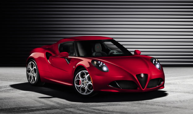 Alfa Romeo releases official 4C images ahead of Geneva unveiling, no surprises here, it's still beautiful3