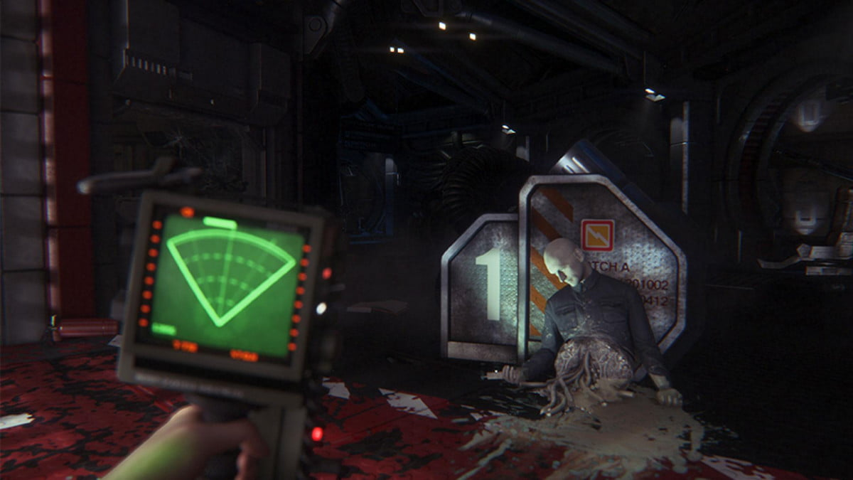 alien isolation video shows characters created