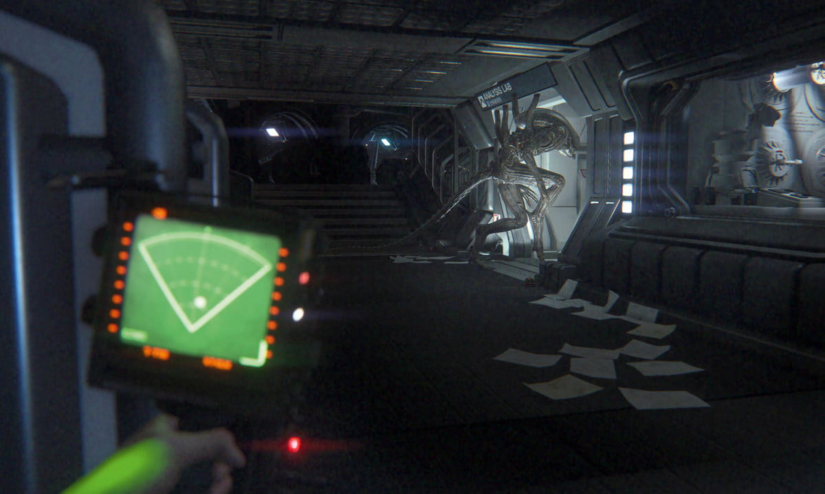 heres can play alien isolation virtual reality vr