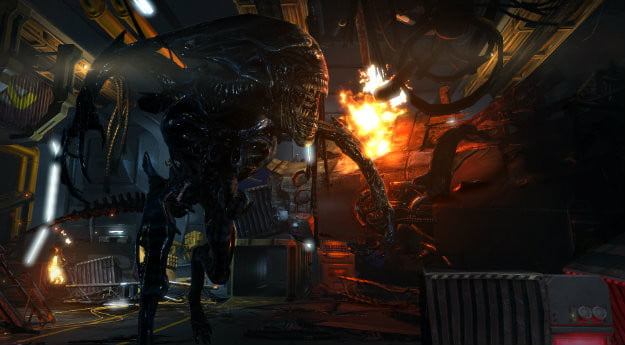 aliens colonial marines preview  x c