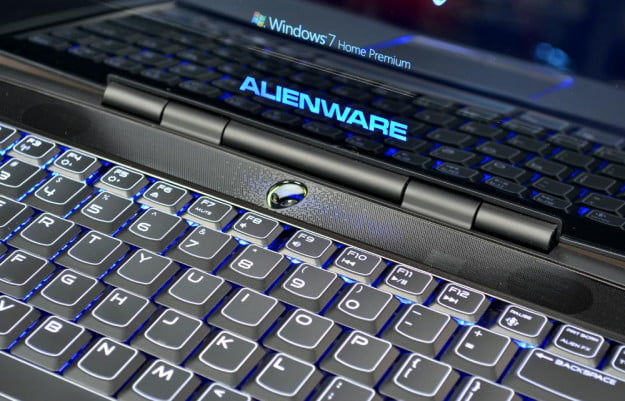 alienware m14x review laptop keyboard gaming laptop