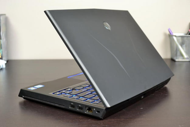 alienware m14x review laptop lid angle gaming laptop