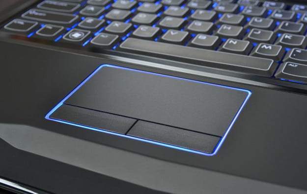 alienware m14x review laptop touchpad gaming laptop