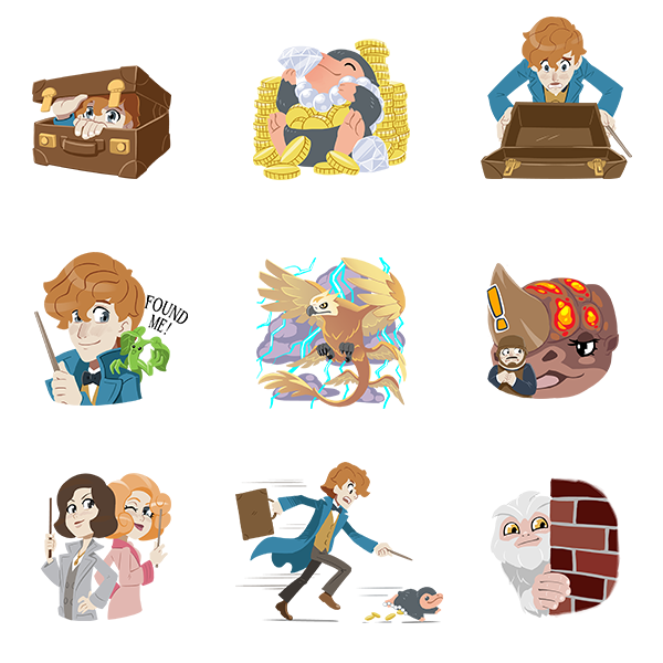 Google Allo gets expected background themes, emoji suggestions, Fantastic Beasts stickers