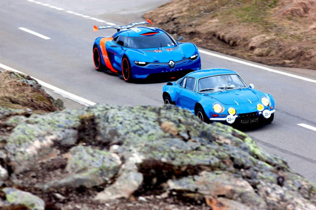 Alpine models racing