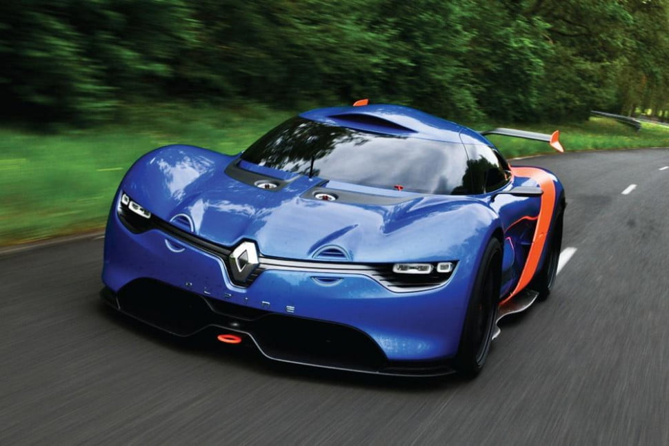 Alpine sports car