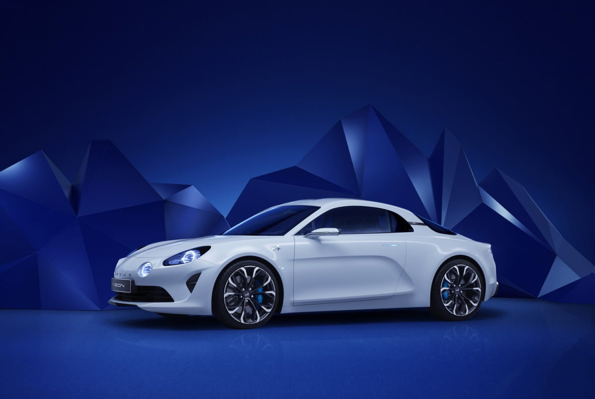 alpine considering amg engines news reports rumors vision concept
