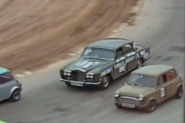amateur race involves mustang convertible rolls royce safety equipment  s amatuer