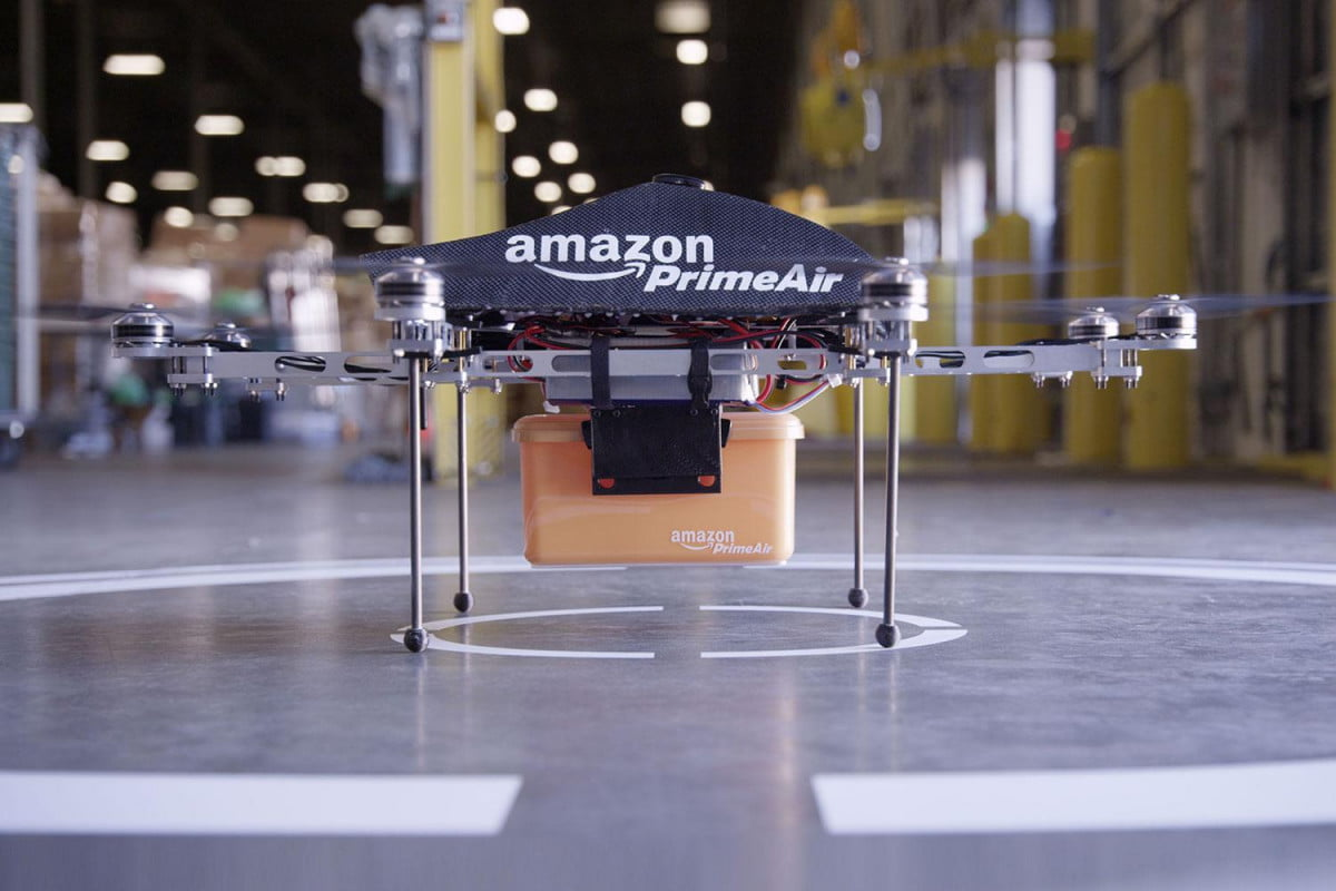 amazons drones will track you down using your smartphone amazon air prime