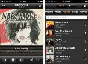 amazon cloud player iphone