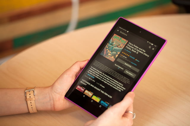amazon fire hd  readers edition