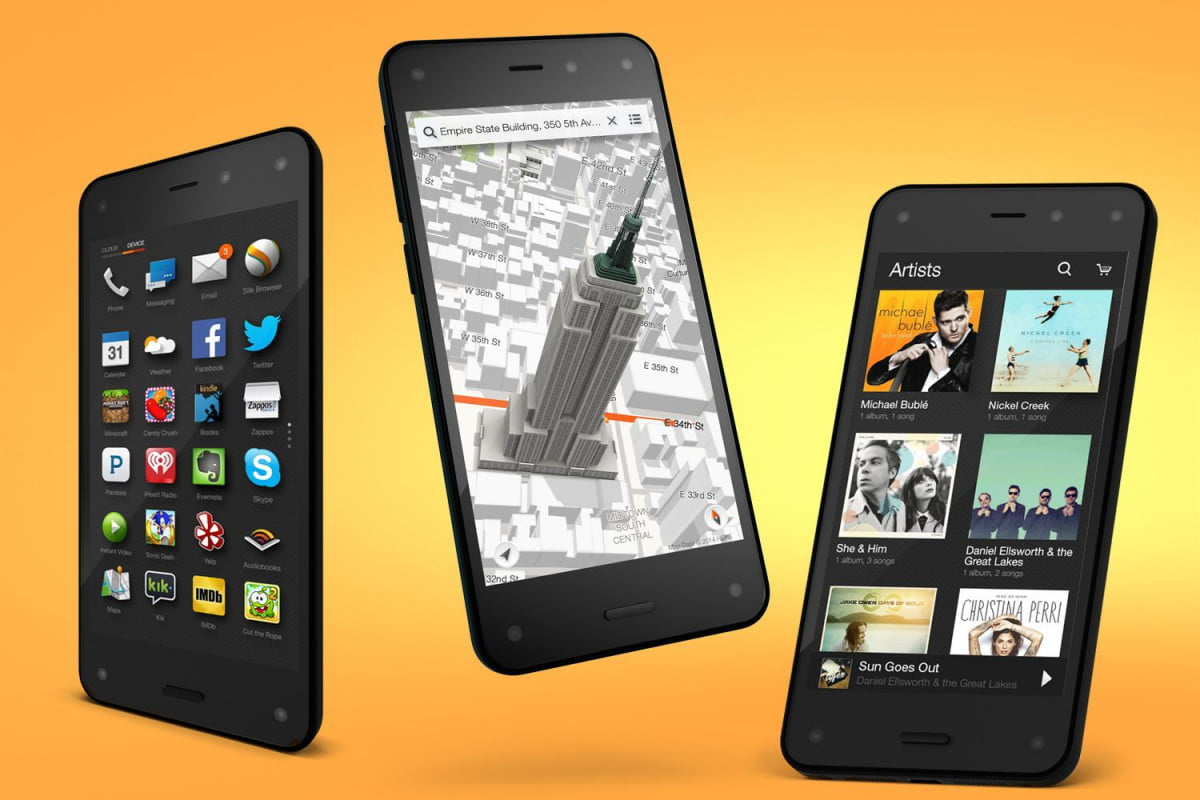 fire phone vs iphone  s amazon