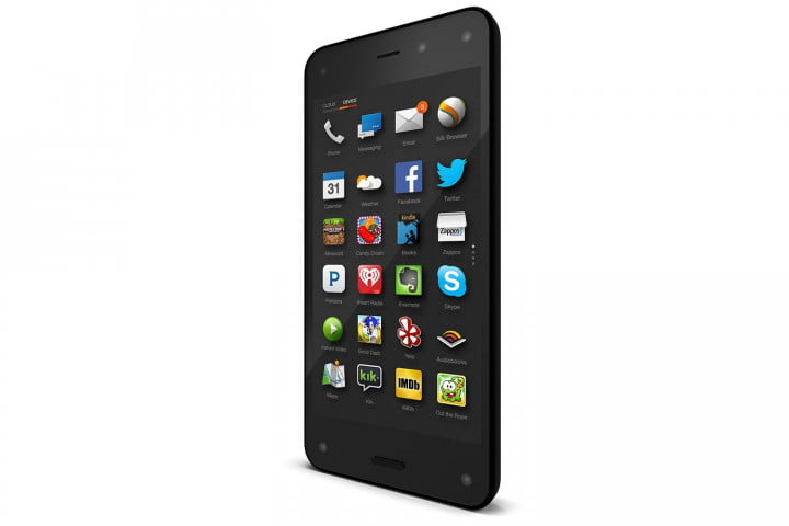 amazon fire phone news features app grid