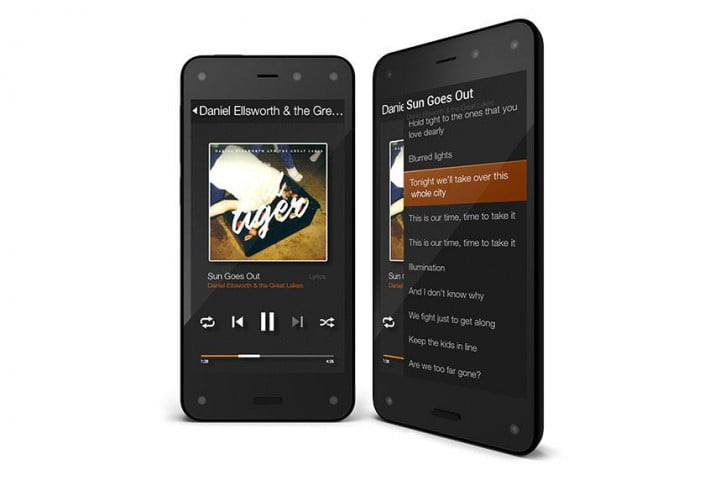 amazons new fire phone offers virtual surround sound magnetic earbuds amazon feature audio