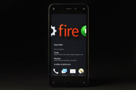Amazon Fire phone front home 3