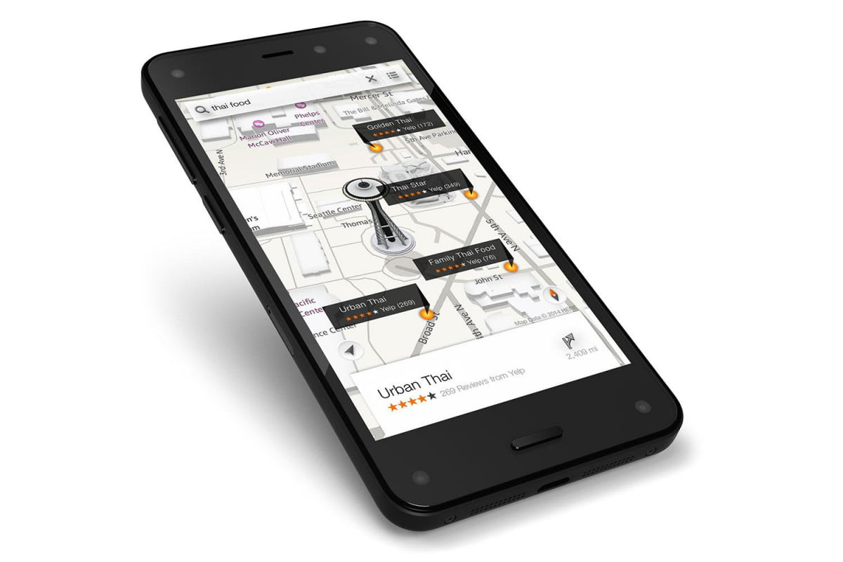 amazon  d phone worth it fire maps yelp