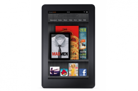 Amazon Kindle Fire 2 (front)