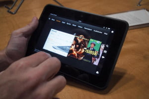 Amazon Kindle Fire HD tablet