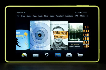 Amazon Kindle Fire HD front horizional