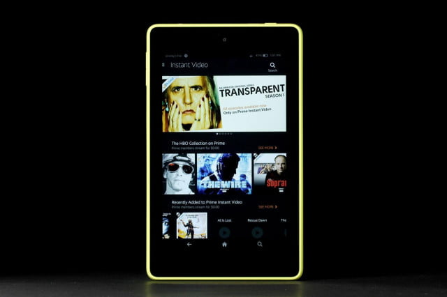 amazon kindle fire hd instant video