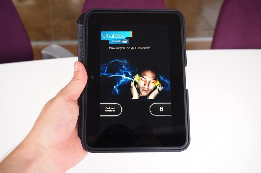 Amazon Kindle HD review ultrabook ad android tablet