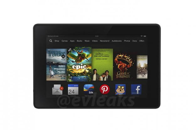 Amazon Kindle Leaked Press Image